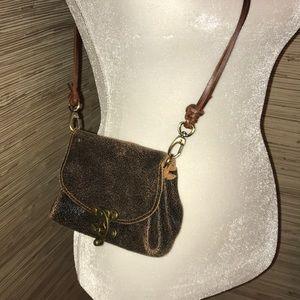 Sanahn leather small purse. EUC! Crossbody bag